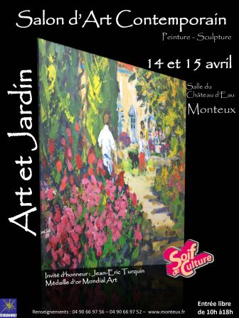 1er salon d art contemporain de monteux christian gros - Salon art contemporain ...
